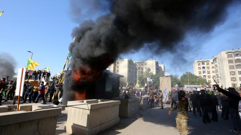 Иран отрече роля в протеста в Багдад, отхвърли обвиненията на САЩ
