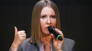 Руската прокуратура подгони Ксения Собчак за признанието, че Крим е украински