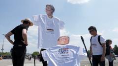 Хиляди германци на протест срещу ограничителните мерки на правителството