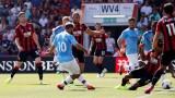 Манчестър Сити победи Борнемут с 3:1