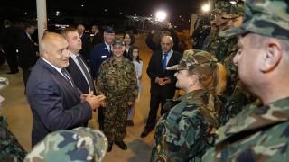 "Бойко Борисов посети босненската военна база ""Бутмир"""