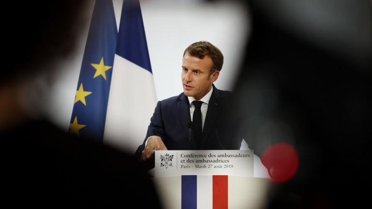 За Макрон е голяма грешка изтласкването на Русия далеч от Европа