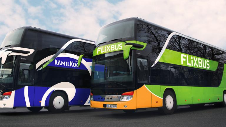 Най-големият превозвач в Европа - германската FlixBus, обяви, че е