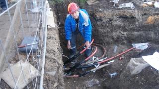 Скъсан кабел остави без ток болницата в Благоевград