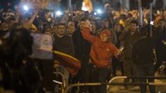 15 души с обвинения за сблъсъците в Македония