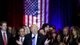 Тръмп стопи 12% на Клинтън, изостава само с 1%