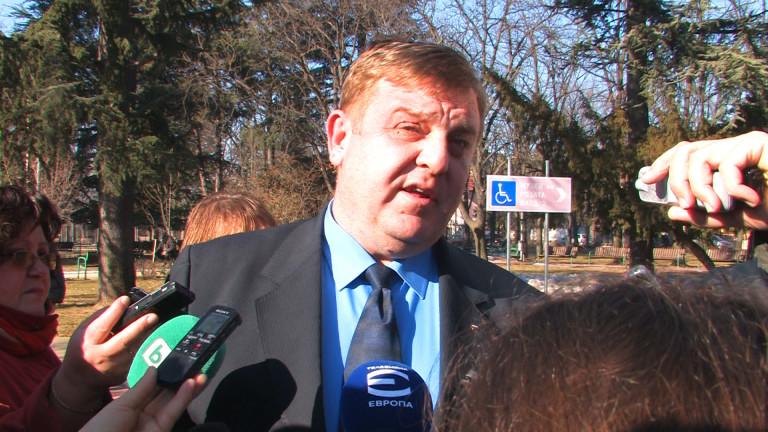 Каракачанов не знае какво да очаква от малката коалиция вече