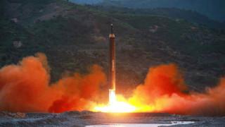 КНДР пак изстреля ракета