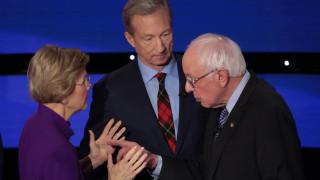 Осми дебат между демократите: Сандърс и Уорън ожесточават враждата си