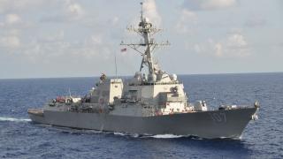 САЩ разположиха кораб в Персийския залив