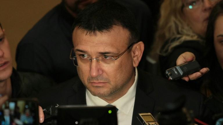 Младен Маринов внимателен към идеята за полицаи доброволци
