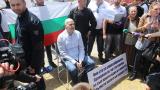 Пети ден на протеста на Слави Трифонов