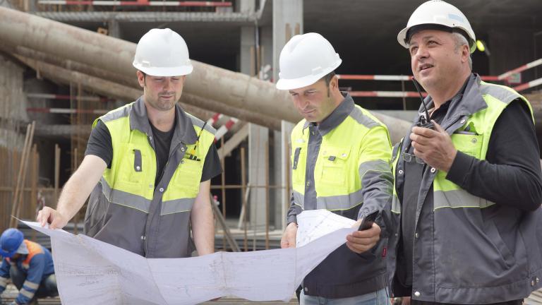 По-малко трудови злополуки в строителството през 2018 г.