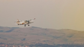 Извадиха падналия самолет край град Съединение