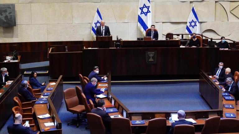 Израелският парламент прекрати заседанията, насрочени за четвъртък, след като депутат
