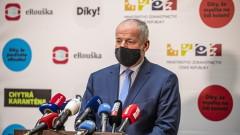 Здравният министър на Чехия губи работата си след нарушаване на Covid правилата