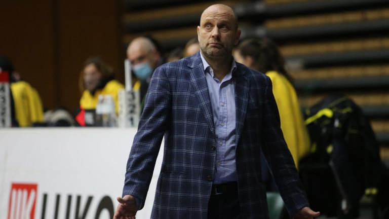 Старши-треньорът на Левски Лукойл Константин Папазов призна превъзходството на Рилски