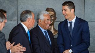 Премиерът на Португалия: Нищо и никога няма да опетни името на Роналдо