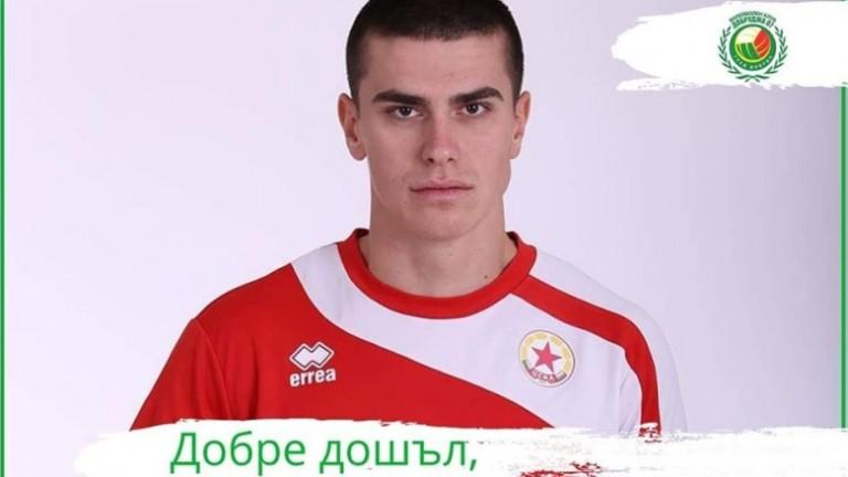 """Иван Крачев е третият """"армейски"""" волейболист, преминал в Добруджа"""