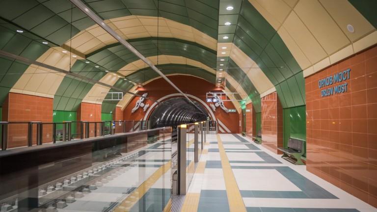 През август пускат първия участък на третия лъч на метрото.