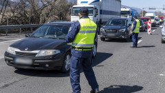 """Временна промяна на движението по АМ """"Хемус"""" край София"""