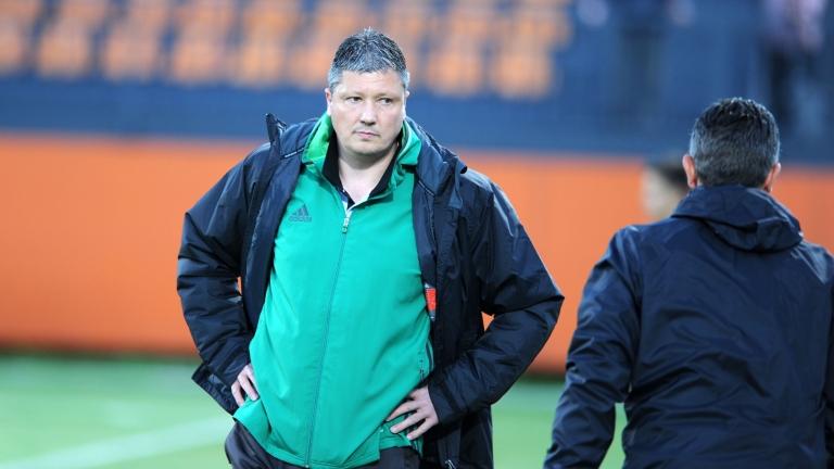 Треньорът Любослав Пенев е с положителен баланс срещу Лудогорец и
