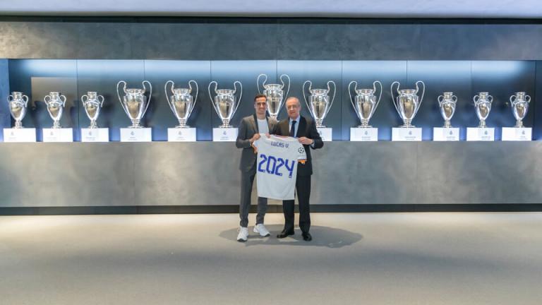 Васкес остава в Реал до 2024 година