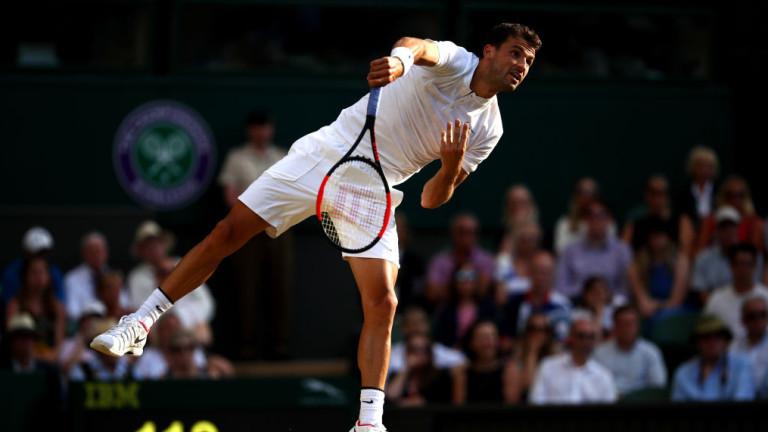 Григор Димитров отново сред десетте най-добри тенисисти в света