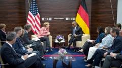 Меркел пред Обама: Длъжна съм да защитя либералния международен ред след избирането на Тръмп