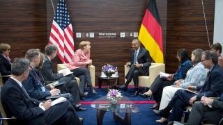Обама поиска от Франция, Германия, Италия и Великобритания стабилен ЕС
