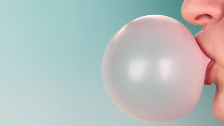 В повечето реклами на дъвки се акцентира върху способността им