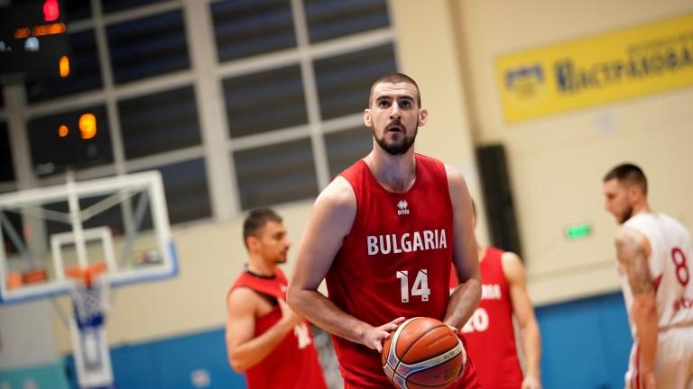 Националният отбор по баскетбол завърши мини лагера си, който е