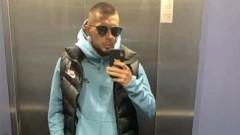 Защитник на ЦСКА в синьо, приятелите му отбелязват, че не му отива...