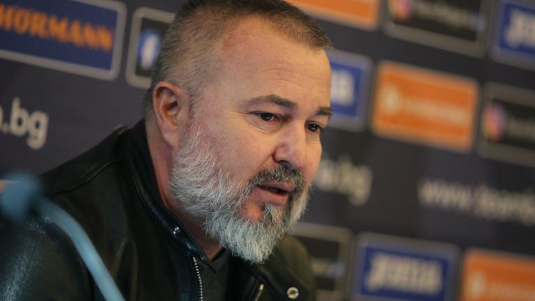 Главен треньор от школата на Левски влиза в щаба на Ясен Петров