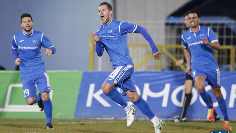 Добра новина за Левски, Давид Яблонски отново е на линия