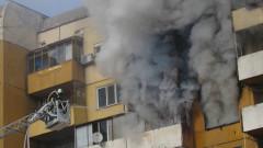 Пожарникари спасиха двама души от горящ апартамент в Сливен