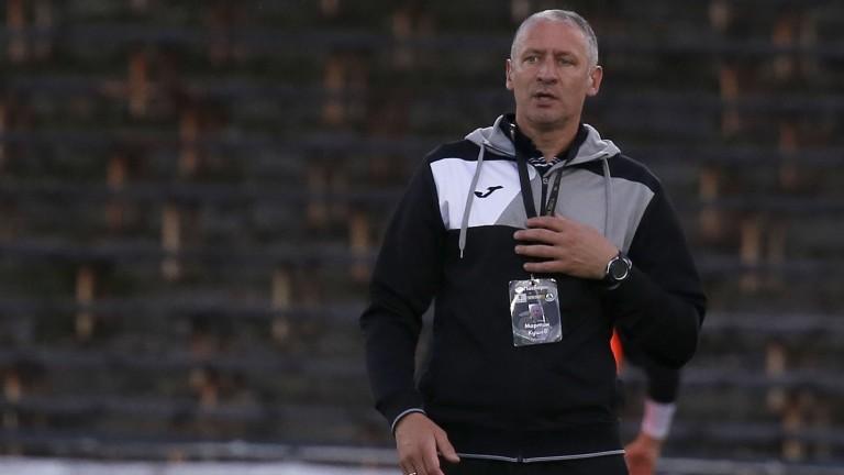 Помощник-треньорът на Славия - Мартин Кушев похвали своя отбор за