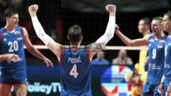 Сърбия се измъчи с Украйна, но е на 1/2-финал на Евроволей 2019