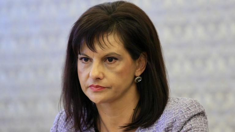 Дариткова за Симеонов: Всеки трябва да понесе своята отговорност