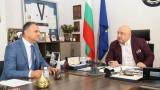 Министър Кралев се срещна с народния представител Валентин Милушев във връзка с Европейската седмица на спорта #BEactive