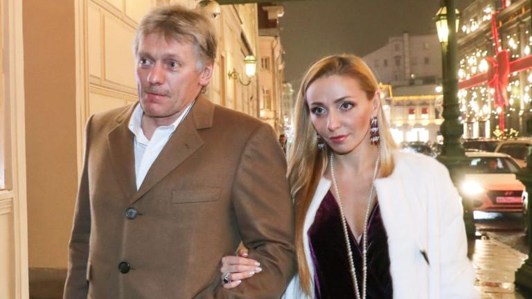 Въпроси заради разточителния начин на живот на говорителя на Путин и жена му