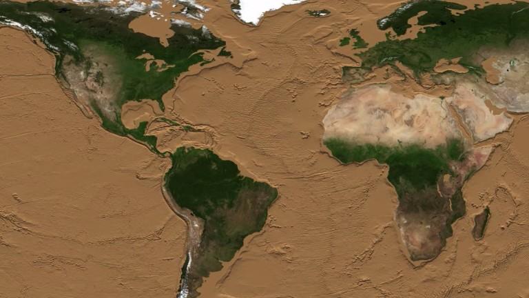 Как би изглеждала планетата, ако пресъхнат океаните