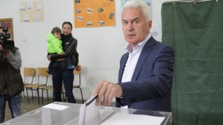 Сидеров гласувайки: Хубав ден на надежда, ден на по-добро бъдеще