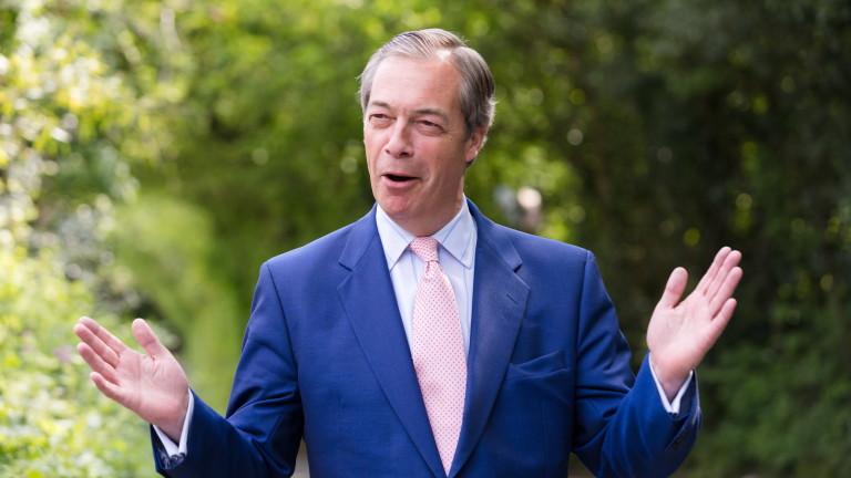 Партията на Фараж смаза консерваторите и лейбъристите на евровота