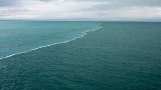 Виж срещата на две морета, които никога не се сливат (ВИДЕО)