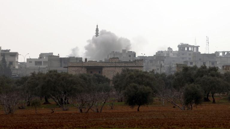 Армията на сирийският президент Башар Асад за пръв път от