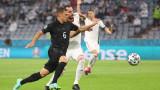 Германия - Унгария 2:2, гол на Горетцка