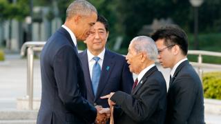 Не виним страната ви, обърнал се към Обама японец, пострадал при атомните бомбардировки