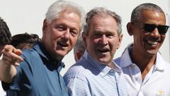 Буш, Клинтън и Обама обединени в група за помощ на афганистанските бежанци в САЩ