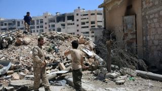 Свирепи боеве между сирийската армия и бунтовници в Алепо